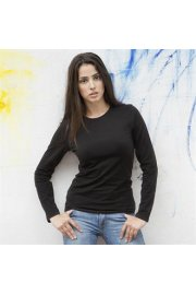 SK111 Womens Long SLeeved Stretch T-Shirt (Small To XL)