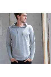 SF251 Mens Long SLeeved Hooded SweatShirt (Small to Large)