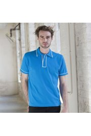 SFM48 Mens Contrast Polo Shirt