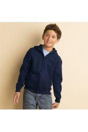 GD58B Heavy Blend Youth Full Zip Hooded SweatShirt