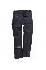 C387BL Lined Action Trousers Black