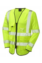 S12-Y Wrafton Executive Hi Vis Long Sleeved Vests (Small To 6XL)