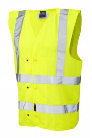W17-Y Rackenford Hi Vis Vests (Small To 3XL)