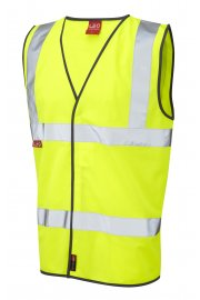 W06-Y Dolton Flame Retardent Hi Vis Vests (Small To 4XL)