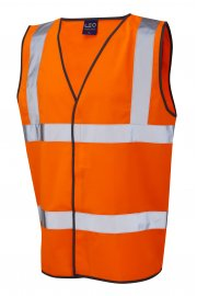 W01-O Tarka Orange Hi Vis Vests (Small To 6XL)