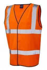W01-O Tarka Orange Hi Vis Vests (Small To 6XL)