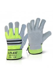 EN388 4144 Fleece Lined Canadian Rigger Gloves (Pack Size 10)