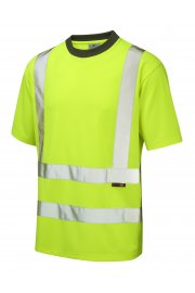 T02-Y Class 2 Braunton CoolViz T-Shirt (Small To 6XL)