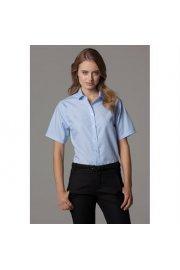 KK315 Womens Non-Iron Shirt Short Sleeved (Size 8 To Size 20)