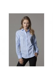 KK316 Womens Non-Iron Shirt Long Sleeved  (Size 8 To 20)