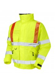 J03-Y Portmore Class 3 orange Brace Superior Bomber (Small To 6XL)