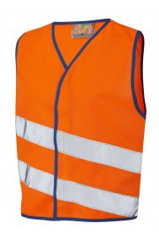 CW01-O NeonStars Childrens Orange Hi Vis Vest (3/4 To 9/11)