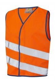 CW01-O NeonStars Childrens Orange Hi Vis Vest (3/4 To 9/11)