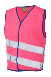 CW01-PK NeonStars Childrens Pink Hi Vis Vest (3/4 To 9/11)