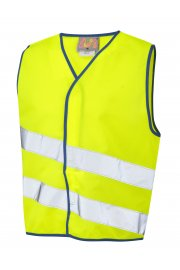 CW01-Y NeonStars Childrens yellow vis vest (3/4 To 9/11)