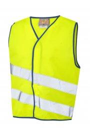 CW01-Y NeonStars Childrens yellow vis vest (3/4 To 9/11)