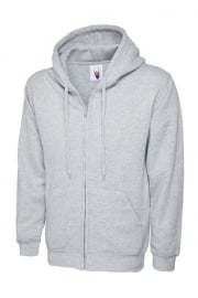 Classic Full Zip Hooded SweatShirt 50/50 pollycotton (Xsmall to 3Xlarge)