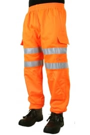 BSJ Hiviz Sweat Jog Bottoms (Small To 4XL)