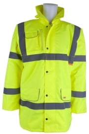 CTJF Fleece Lined Traffic Jacket (Small To 6XL)