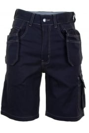 GMPSN Click Grantham Navy M/Pocket Shorts