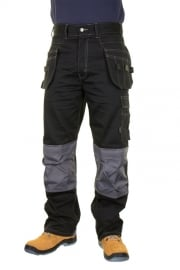 KMPTBL Click Kington Black M/Pocket Trousers