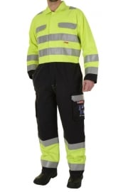 CARC7 ARC Compliant Boiler Suit Yellow/Navy (Small To 4XL)