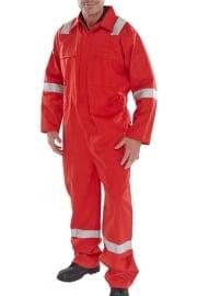 CFREBSRE Erskine FR/AS Boiler Suit Red (XSTo6XL)