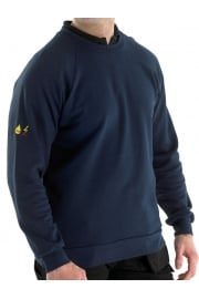 Flame Retardent Anti Static Sweatshirt Navy (SmallTo5XL)