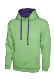 Contrast Hooded SweatShirt (Xsmall to 4Xlarge)