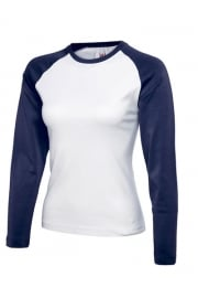 UC311 Ladies Raglan Long Sleeved T-Shirt (One Size)
