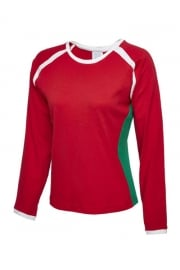 UC313 Ladies Premium Long Sleeve Union T-Shirt (One Size)