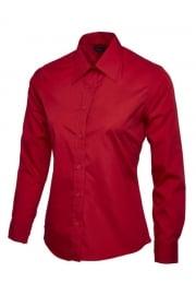 UC711 Ladies Poplin Full Sleeve Shirt (XS To 5XL)