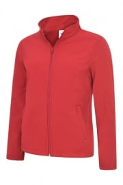 UC613 Ladies Full Zip Soft Shell Jacket (XS to 2XL)