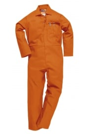 C030OR CE Safe-Welder Coverall Flame Resistant Orange (Reg)