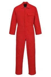 C030RD CE Safe-Welder Coverall (Red)
