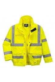 S591 Hi Vis  Bomber Jacket (Breathable) (Small To 4XL)