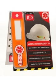 Worker Emergency ICE ID Tag