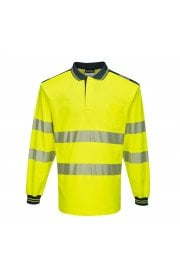 T184 - PW3 Hi-Vis Polo Shirt L/S (Small to 5XLarge)
