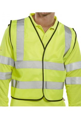 Beeswift WCENGSH Scaffolders Hi Vis Vests (Large To 2XL)