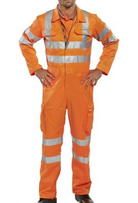 Beeswift RSC Rail Spec Coverall (Size 36 To 56)