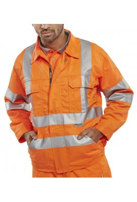 Beeswift RSJ Rail Spec Jacket (Size 38 To 56)