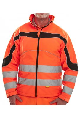 Beeswift ET41 Eton Soft Shell Jacket Breathable (Small To 6XL)