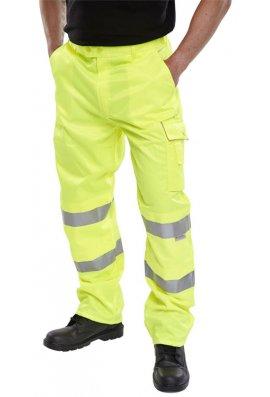Beeswift PCTEN High Way Trousers Polycotton (30 Reg To 48 Reg)