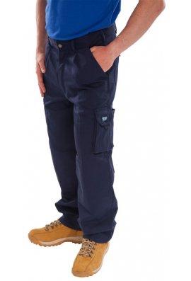 Beeswift CTRANTN Navy Click Traders Newark Trousers