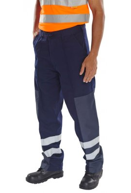 Beeswift PCNT27 Ballistic Nylon Patch Waste Handling Trousers