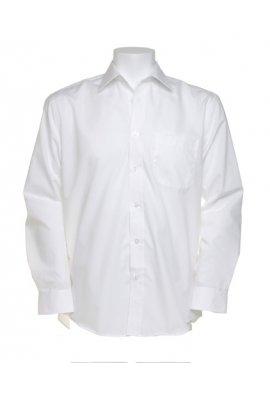 Kustom Kit KK104 Long Sleeved Business Shirt  (Collar Size  14.5 To 19.5)  3 COLOURS