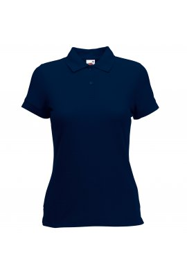 Fruit Of The Loom SS212 Ladies Fit 65/35 Polo (XSmall To 2XL) 10 COLOURS