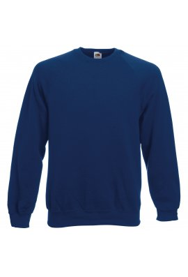 Fruit Of The Loom SS270 Classic Raglan Sweat (Small To 2XL) 9 COLOURS