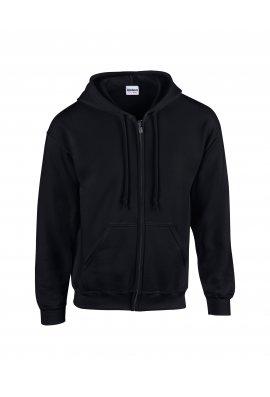 Gildan GD058 Heavy Blend Full Zip Hooded Sweatshirt (Small  to 5Xlarge)  12 COLOURS