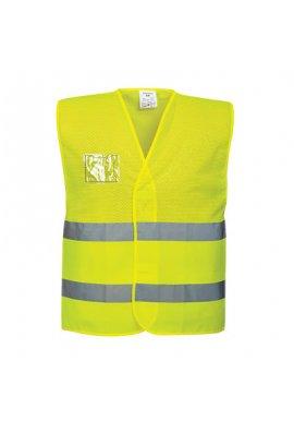 Portwest C494 Hi Vis Mesh Vests (Small To 5XL)